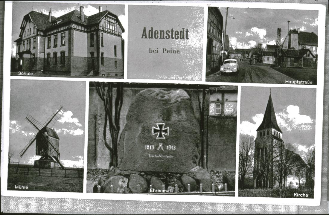 www.gelbesblatt.info Postkarte von Adenstedt