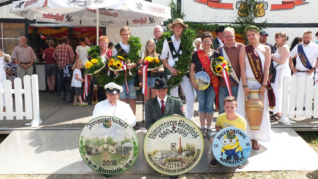 www.gelbesblatt.info Schützenkönige  2016