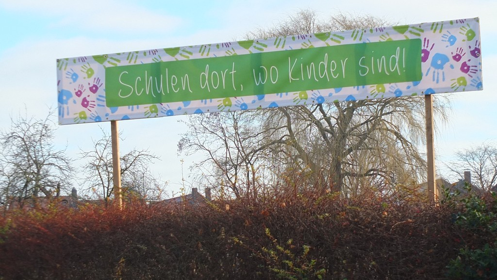 www.gelbesblatt.info Banner gegen Schulschließung