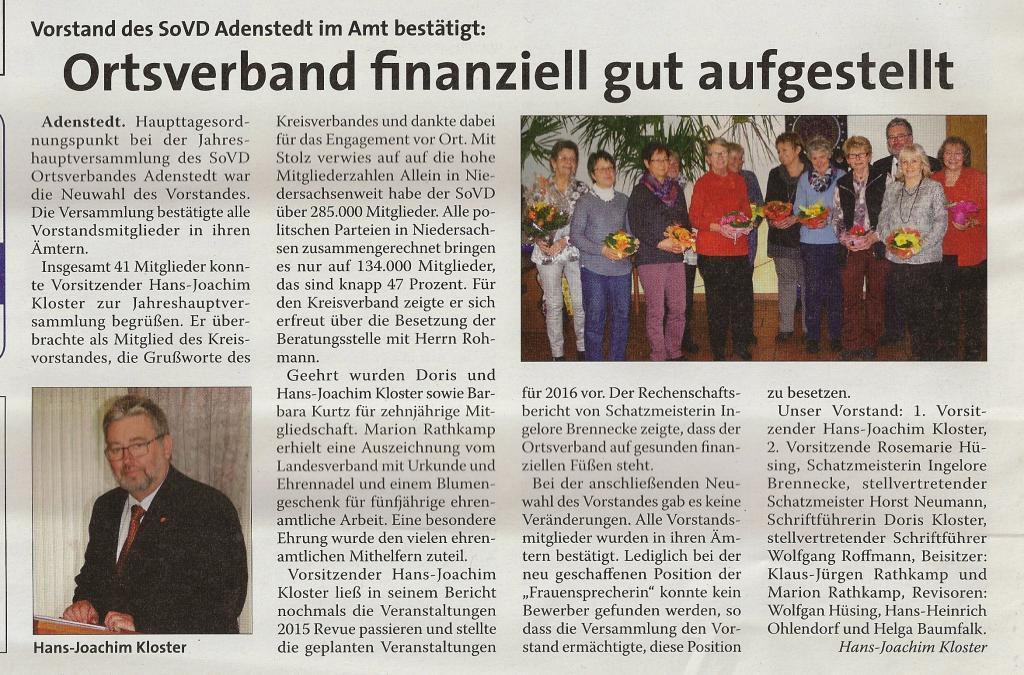 www.gelbesblatt.info Versammlung des Sozialverbandes